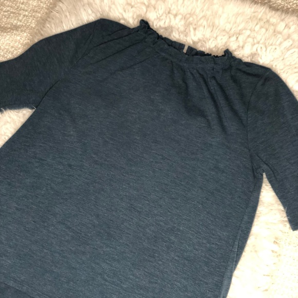 Ann Taylor Tops - Ann Taylor high neck ruffle shirt